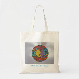 平和および調和のバッグ2 トートバッグ