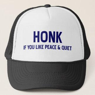 平和および静寂を好んだら警笛を鳴らして下さい キャップ