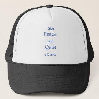 平和および静寂 キャップ