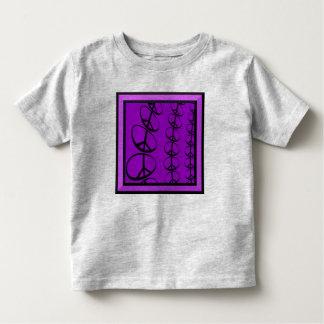 平和たくさんの幼児のTシャツ トドラーTシャツ
