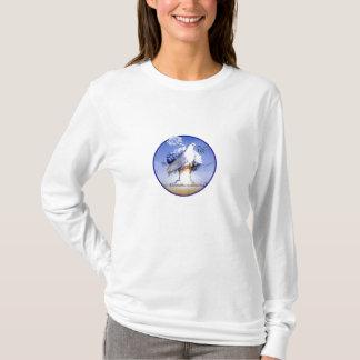 平和ない戦争を促進して下さい Tシャツ