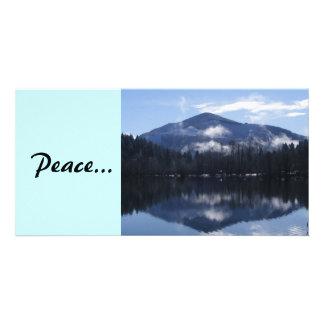 平和な反射 カード