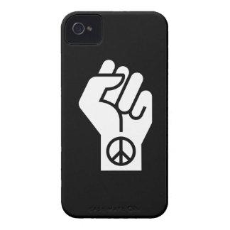 平和な抗議のピクトグラムのiphone 4ケース Case-Mate iPhone 4 ケース