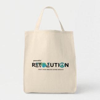 平和な改革愛地球のトートバック トートバッグ