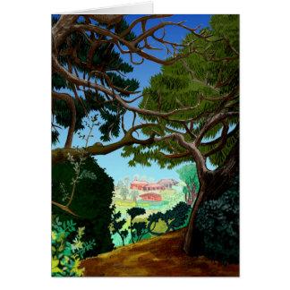 平和な景色カード カード