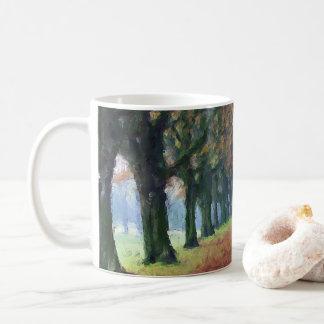 平和な歩行 コーヒーマグカップ