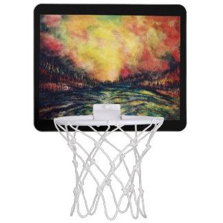 平和な道 ミニバスケットボールネット