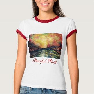 平和な道 Tシャツ