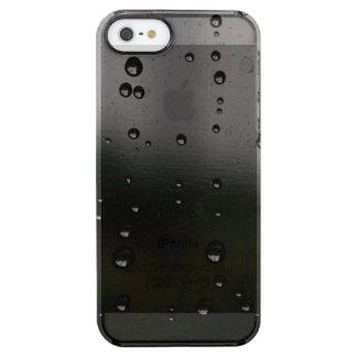 平和な雨 クリア iPhone SE/5/5sケース