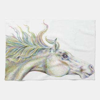 平和な馬 キッチンタオル