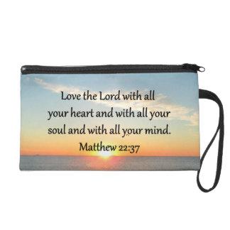 平和なMATTHEWの22:37の日の出の聖なる書物、経典のデザイン リストレット