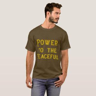 平和なTシャツ2に動力を与えて下さい Tシャツ