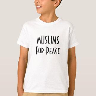 平和のためのイスラム教 Tシャツ