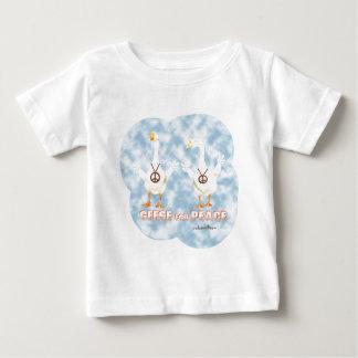 平和のためのガチョウ ベビーTシャツ