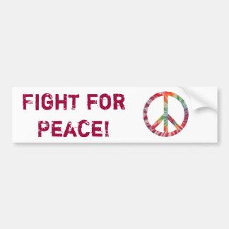 平和のための戦い! バンパーステッカー