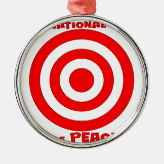 平和の国際的な記号 メタルオーナメント