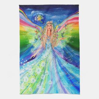平和の天使 キッチンタオル