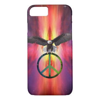 平和の自由 iPhone 8/7ケース