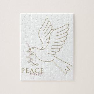 平和の鳩 ジグソーパズル