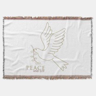 平和の鳩 スローブランケット
