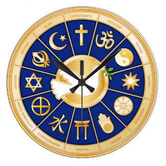 平和の鳩 ラージ壁時計