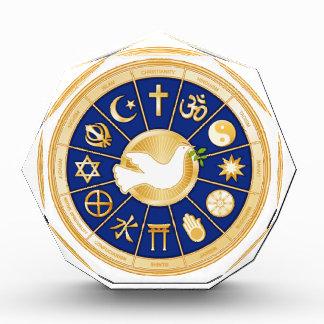 平和の鳩 表彰盾