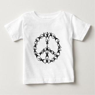 平和のP2人々 ベビーTシャツ