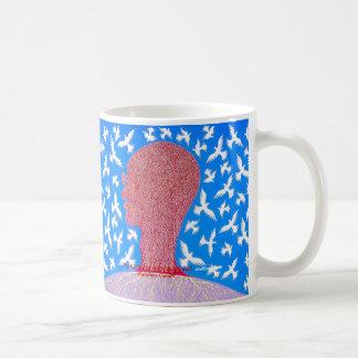 平和はMetinによって自身の報酬Mahatma Gandhi行います コーヒーマグカップ