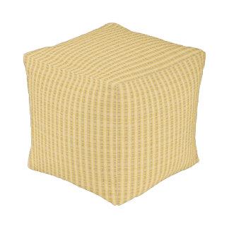 平和ばら色デザイナー立方体の枕 プーフ