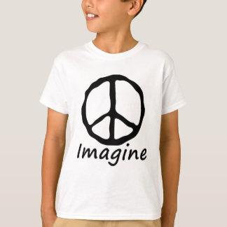 平和を想像して下さい Tシャツ