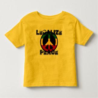 平和を法律化して下さい トドラーTシャツ