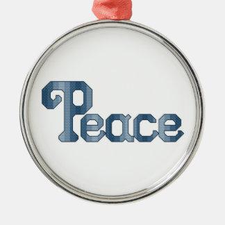 平和オーナメント メタルオーナメント