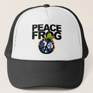 平和カエル2 キャップ
