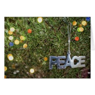 平和クリスマスカードの魔法 カード