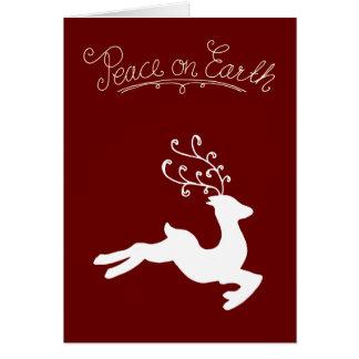 平和トナカイ カード