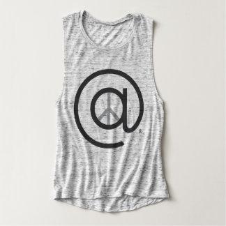 平和トレーニングのワイシャツの女性 タンクトップ