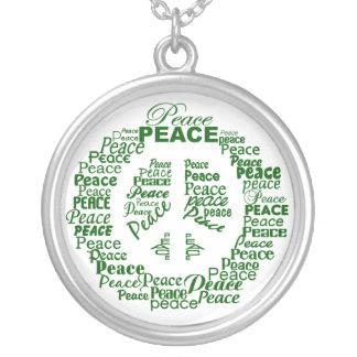 平和ネックレス シルバープレートネックレス