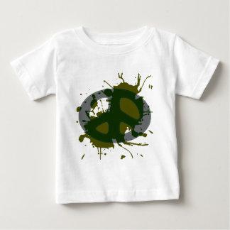 平和バッジのsplat ベビーTシャツ