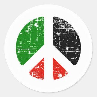 平和パレスチナ ラウンドシール