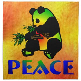 平和パンダくま ナプキンクロス