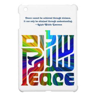 平和ヘブライの言語、英語、アラビア iPad MINIケース