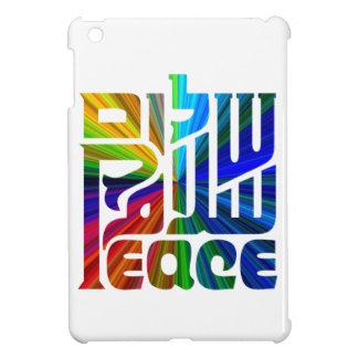 平和ヘブライの言語、英語、アラビア iPad MINI カバー