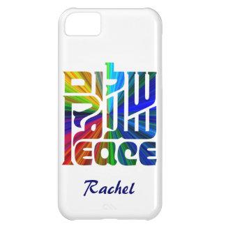平和ヘブライの言語、英語、アラビア iPhone5Cケース