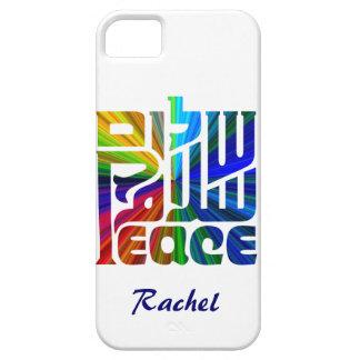 平和ヘブライの言語、英語、アラビア iPhone SE/5/5s ケース