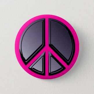 平和ボタンの反射 5.7CM 丸型バッジ