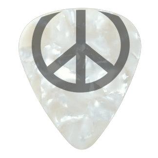 平和一突き パールセルロイド ギターピック
