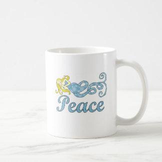 平和人魚の休日の夢 コーヒーマグカップ