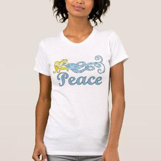 平和人魚の休日の夢 Tシャツ