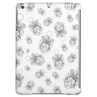 平和休日のコラージュパターンのクリスマスの天使 iPad AIRケース