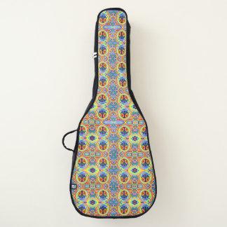 平和元の芸術のデザインのギターの箱かバッグ ギターケース